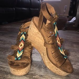 NWT! ARIAT UNBRIDLED WEDGES!
